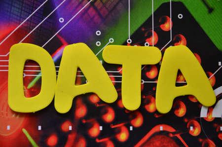 word data photo