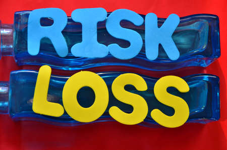 word risk loss photo