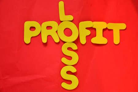 word profit Stock Photo - 21541366