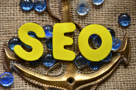 word seo Stock Photo - 21700508