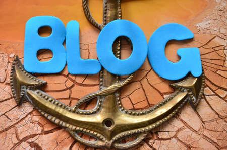 word blog Stock Photo - 21785461