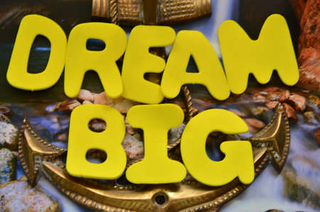 word dream big Stock Photo - 21891112