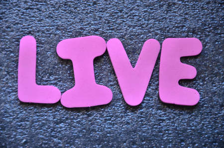 word live Stock Photo - 21988669