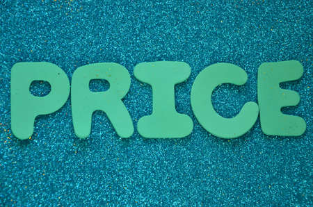 WORD: PRICE photo