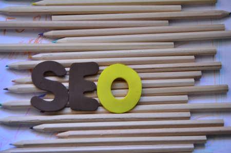 WORD SEO Stock Photo - 22285972