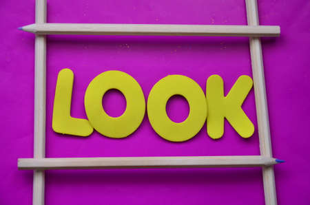 word look Stock Photo - 22286005