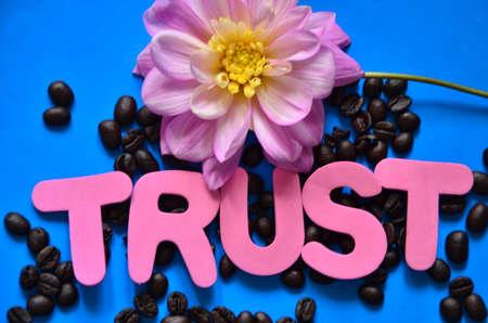 word trust photo