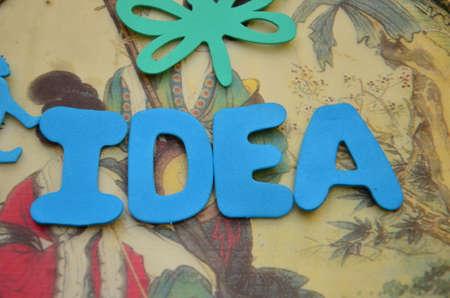 inventing: word idea