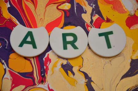 word art: Arte de la palabra Foto de archivo