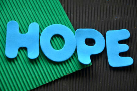 word hope photo