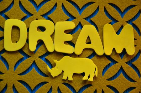 deliverance: word dream Stock Photo