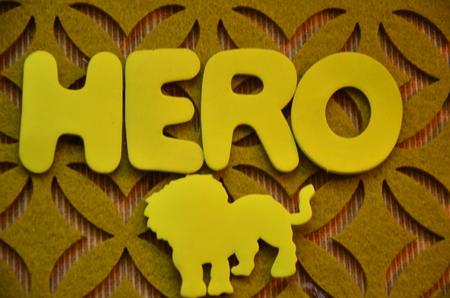 word hero photo