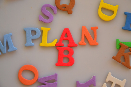 word plan b photo