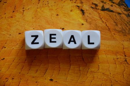 zeal: WORD ZEAL