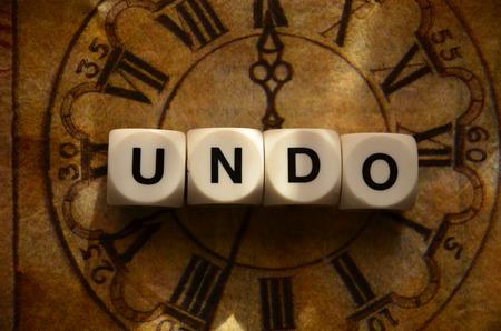 word undo photo
