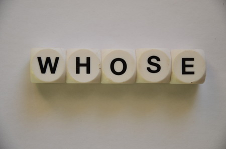 whose: word whose