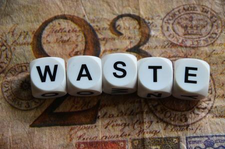 word waste photo