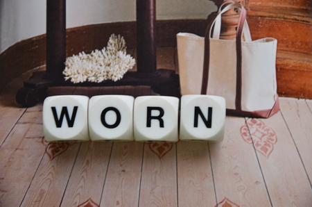 word worn photo