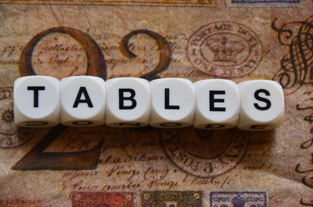 variable rate: word tables