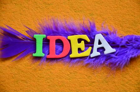 word idea photo