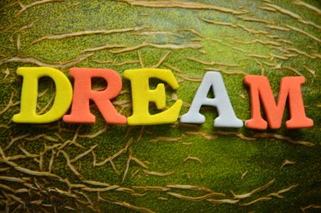 word dream photo