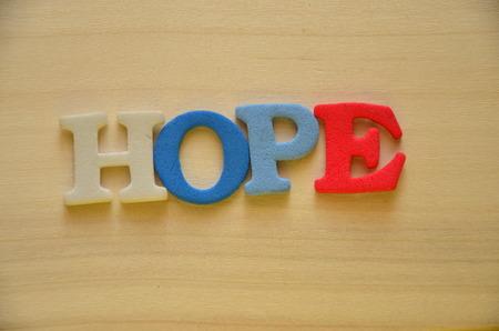 word hope photo