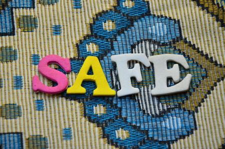 word safe photo