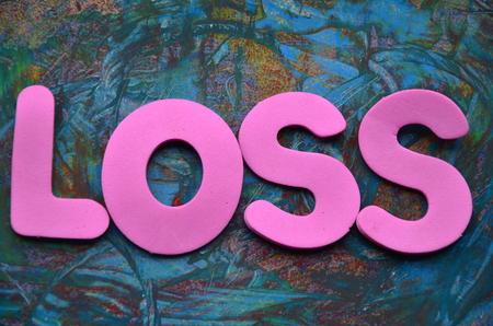 loss word photo