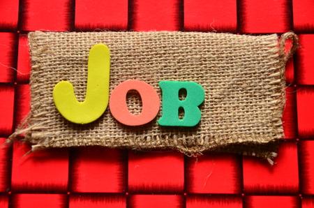 job offers: job word