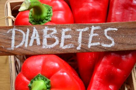 DIABETES WORD Stock Photo