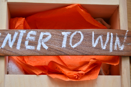 enter to win word photo