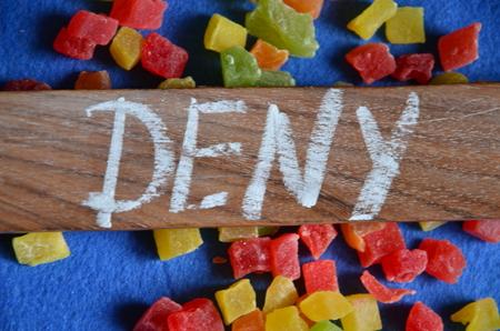 deny: deny word