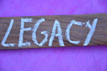 nalatenschap: legacy woord