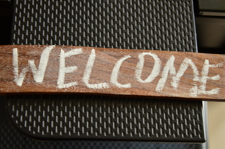 WELCOME WORD photo