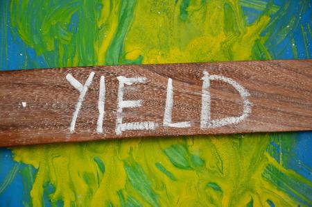 yield: yield word