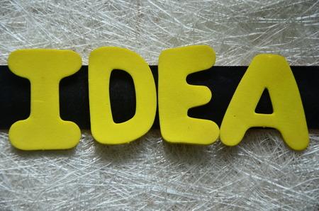inventing: IDEA WORD