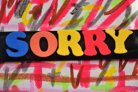 SORRY WORD photo