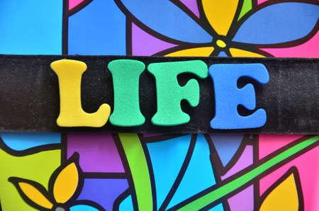 life  word photo