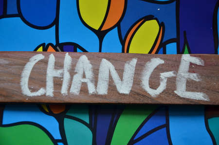 change word photo