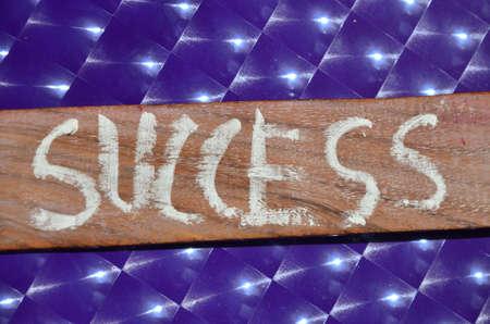 meth: success word Stock Photo