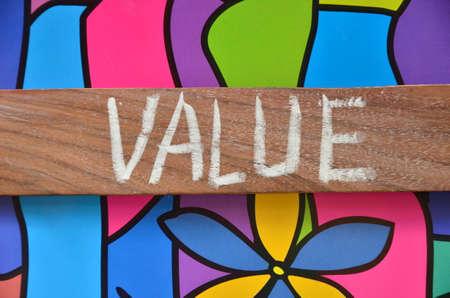 value word photo