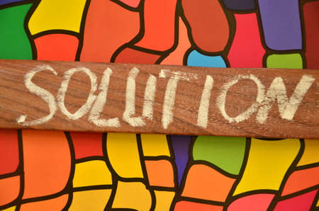 the solution: solution word