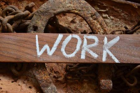 WORK WORD photo