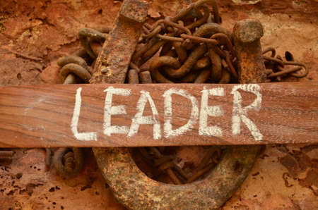 Leader word photo