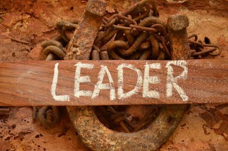 Leader word photo