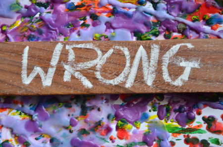 unjust: WRONG WORD