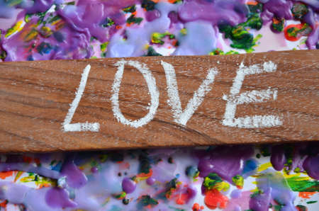 stock photographs: love word