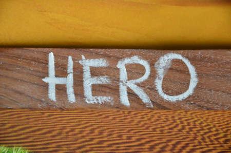 Hero word photo