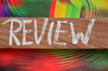 critique: Review word