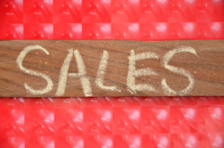 Word sales photo